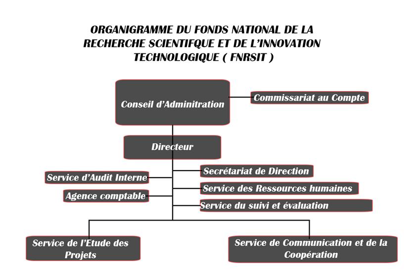organigramme FNRSIT2